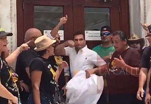 La secretaria de Justicia, Wanda Vázquez, confirmó que Rivera Guerra será denunciado (Captura de pantalla).