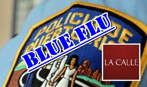 Policia-Puerto-Rico-logo-la-calle Blue Flu
