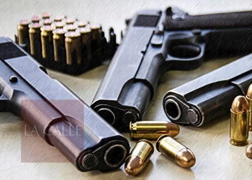 pistolas y balas wm