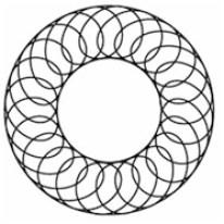 Torus mit Spirale