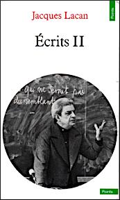 Titelseite von Jacques Lacan, Écrits II, Taschenbuchausgabe von 1971 bei Seuil