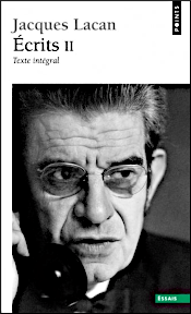 Titelseite von: Jacques Lacan: Écrits II. Texte intégral, 1999, Cover von ?