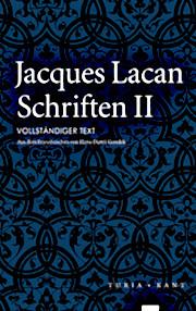 Titelseite von Jacques Lacan:: Schriften II, Gondek-Übersetzung