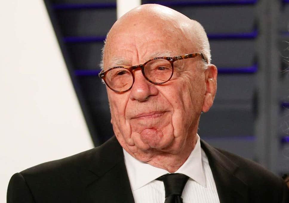 El magnate mediático Rupert Murdoch cree que Trump perderá las elecciones