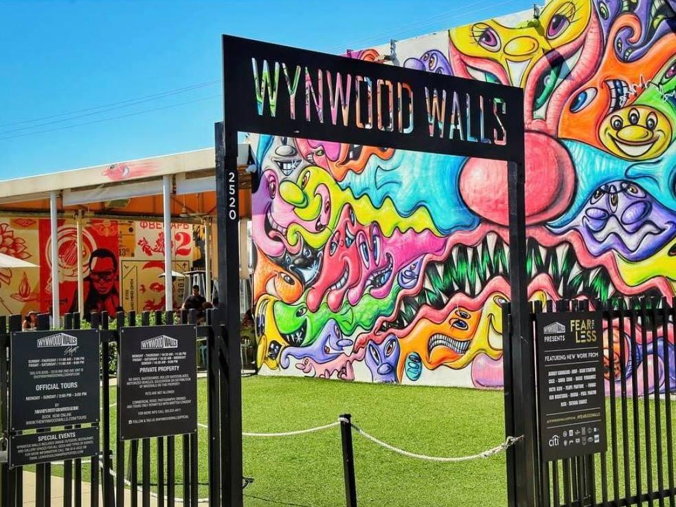 Los murales de Wynwood reabren en Miami para mostrar su diversidad al mundo