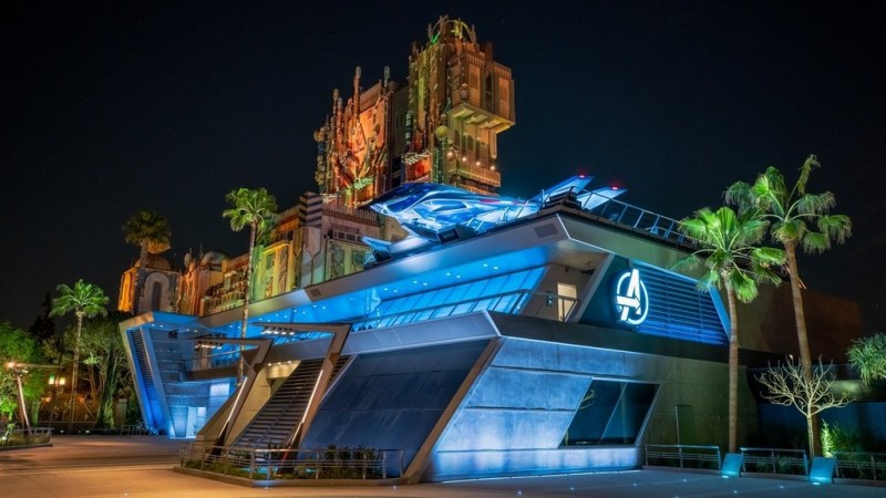 Avengers Campus Disney California Adventure Park