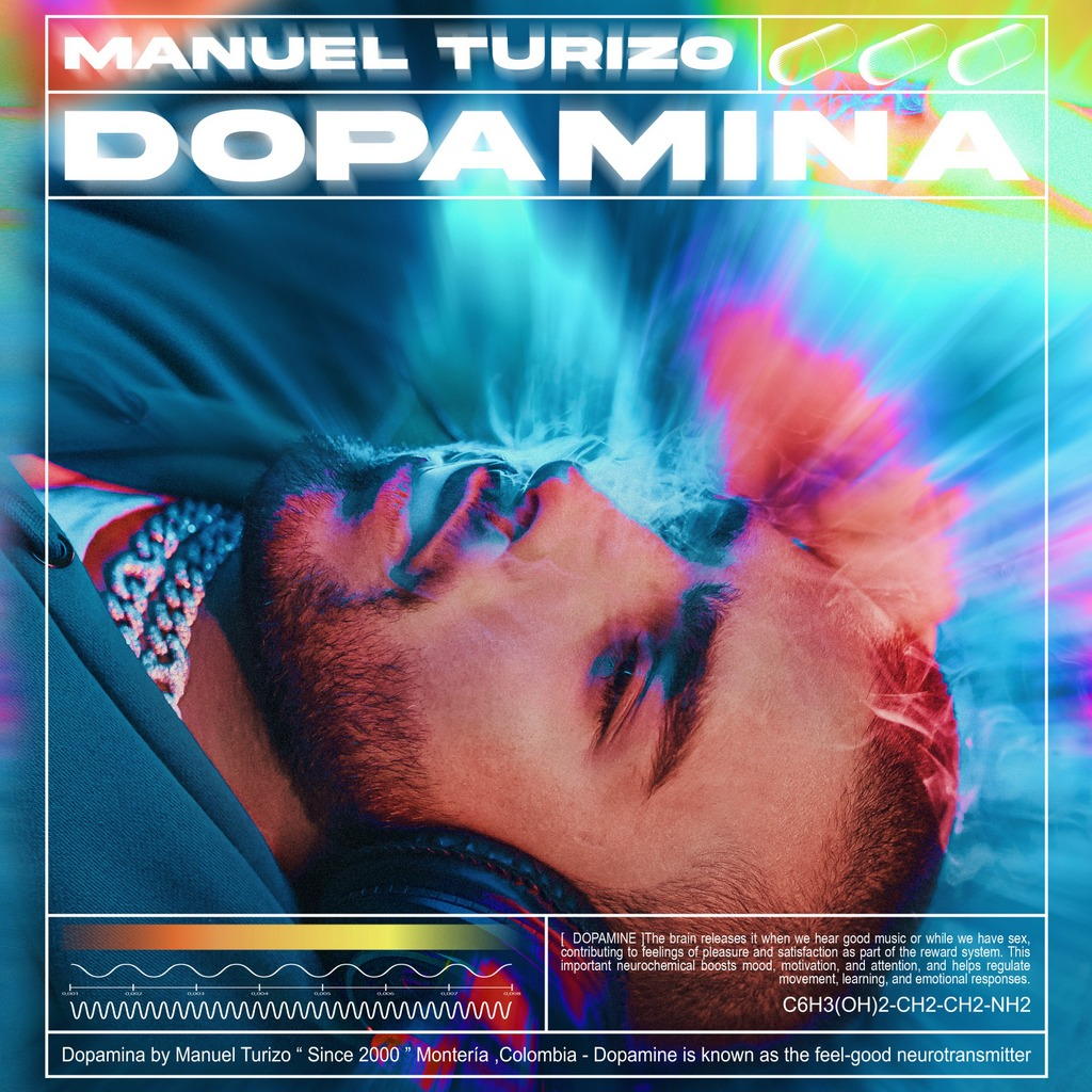 Manuel Turizo lanza su segundo álbum de estudio «Dopamin»