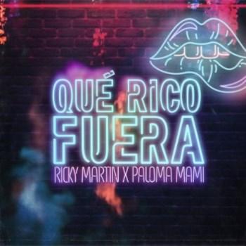 """Ricky Martin junto a Paloma Mami presentan """"Qué Rico Fuera"""""""