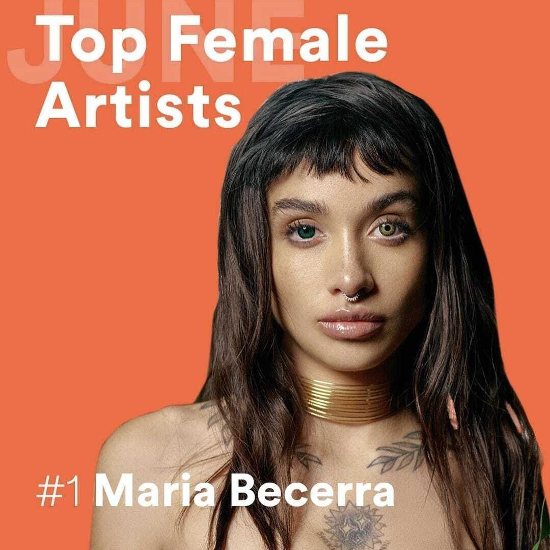 Maria Becerra agota entradas y supera los 23 millones de oyentes mensuales en Spotify