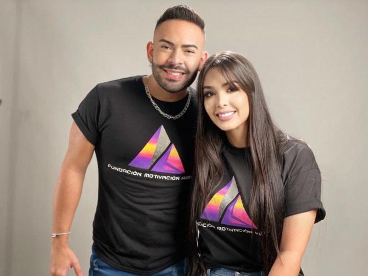 Juntos Michelle López y José Alfredo, contra de la violencia de género