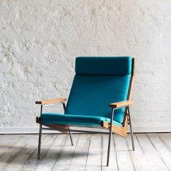 Teal Lounge Chair Covers For Rustic Wedding Quotlotus Quot La Caravane Studio