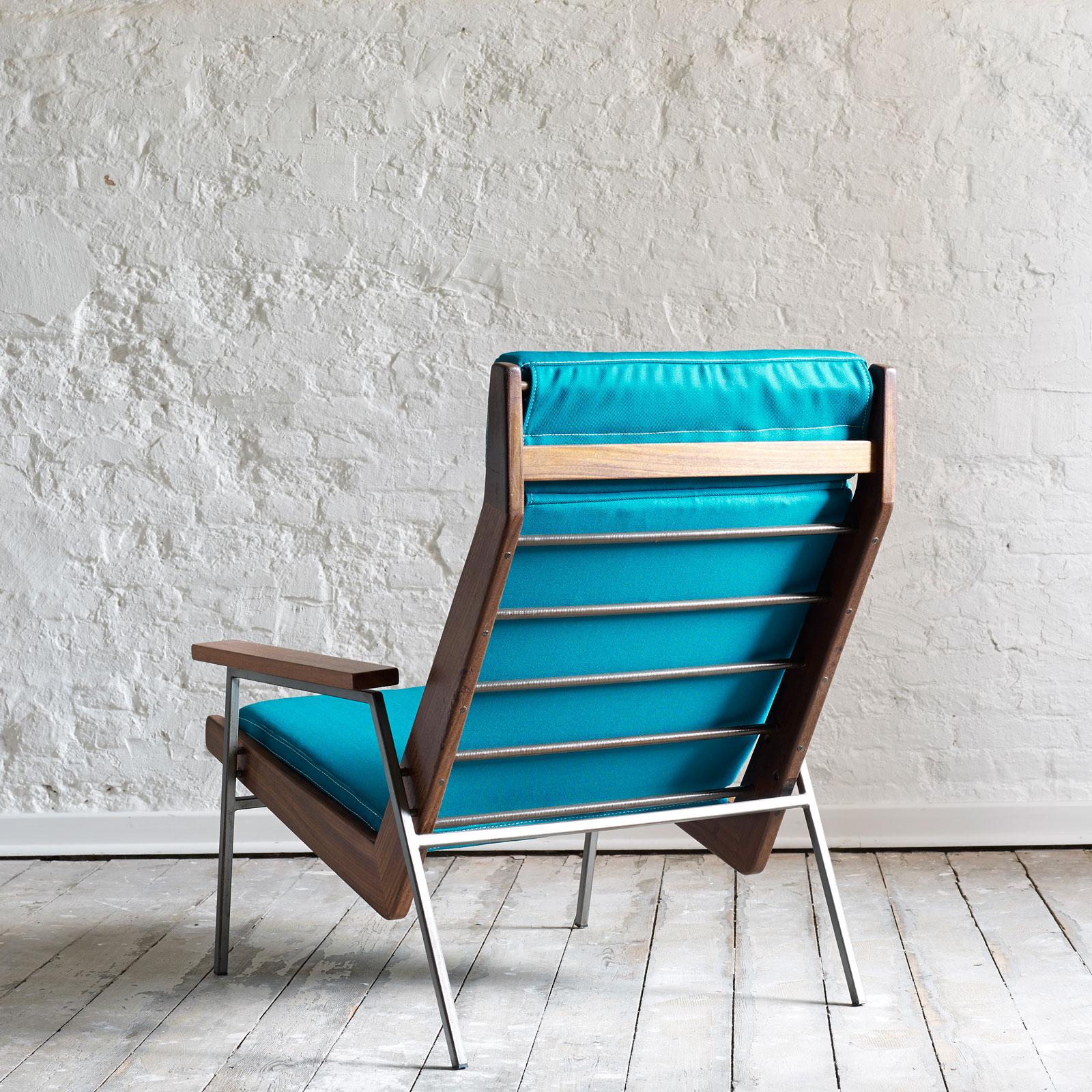 teal lounge chair best deer blind chairs quotlotus quot la caravane studio