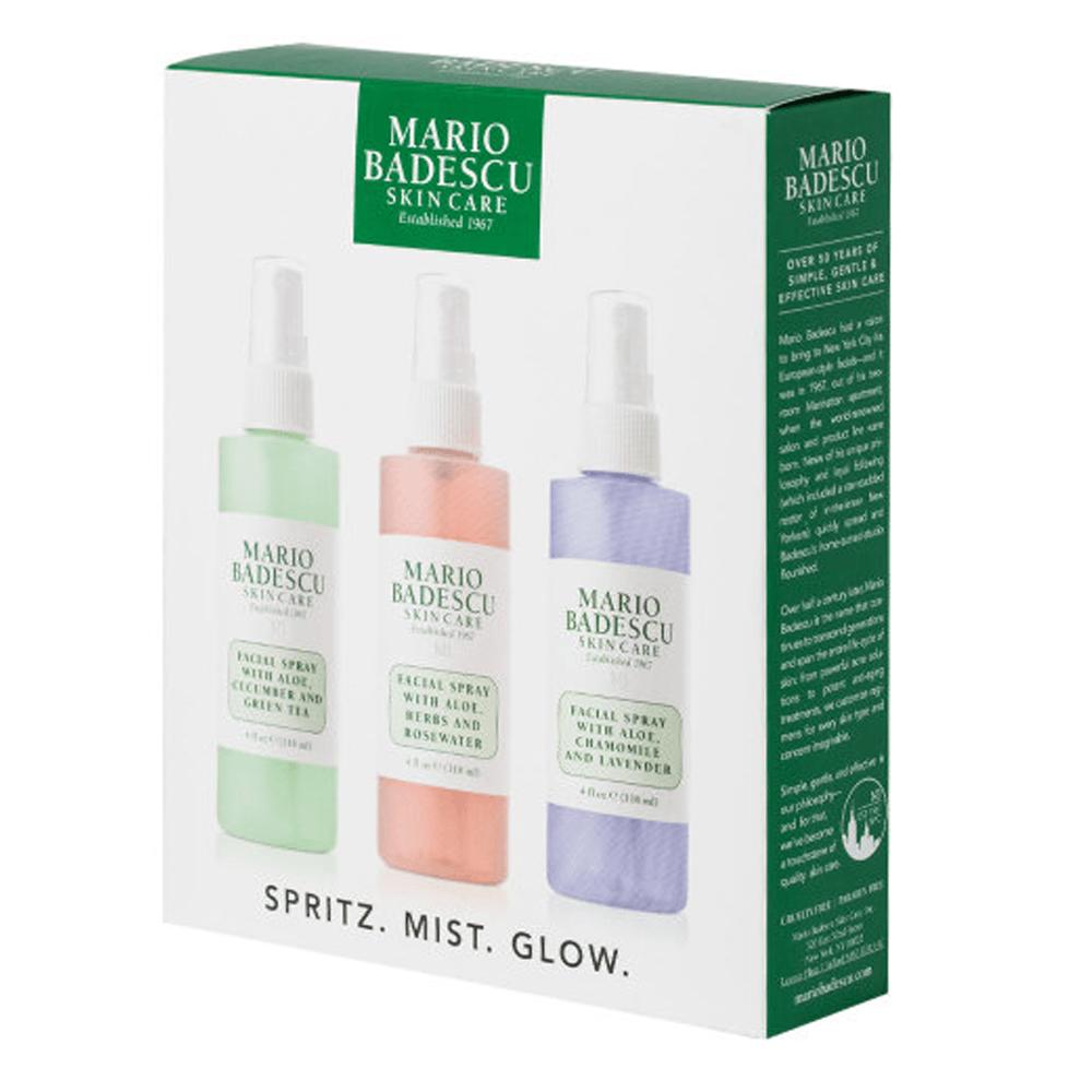Mario Badescu Spritz Mist And Glow Set