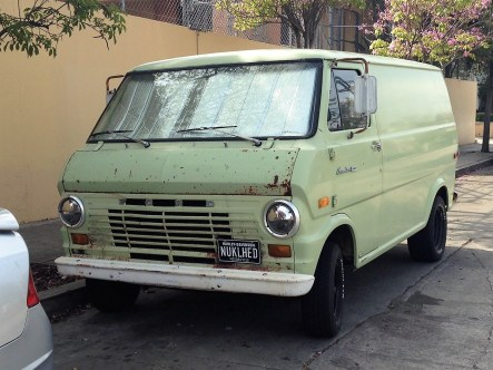 16 - 1970 Ford Econoline Panel Van (1)