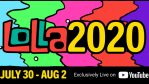¡A disfrutar Lollapalooza en streaming!