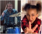 Duelo de gigantes; Dave Grohl compone canción a Nandi Bushell