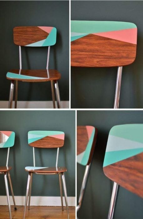 Sillas restauradas 7 ideas para decorar una silla