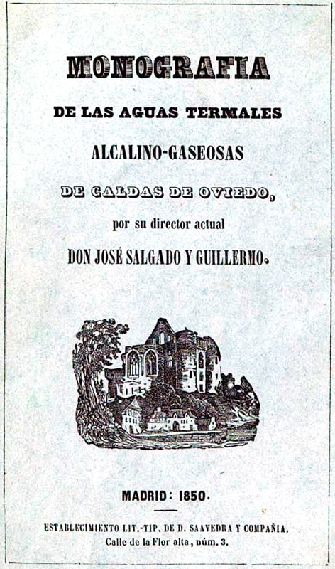 Aguas Termales del Balneario Las Caldas de Oviedo - La Casa Azul de Las Caldas