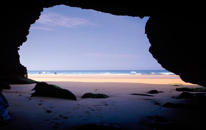Playa de Xivares desde Las Caldas - Mejores Playas de Asturias