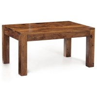 Cube Sheesham Dining Table | La Casa Bella