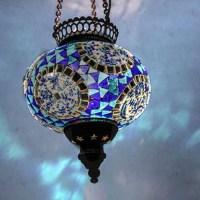 Mosaic Ceiling Pendant Globes | La Casa Bella