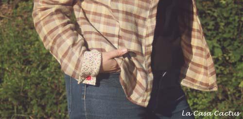 Une chemise en flanelle bien chaude