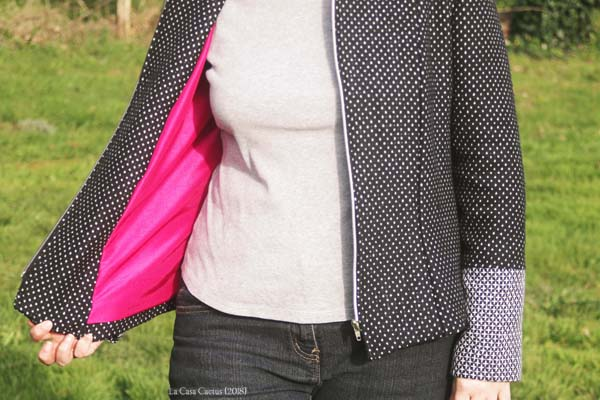 {Test} La veste Billie, pm patterns