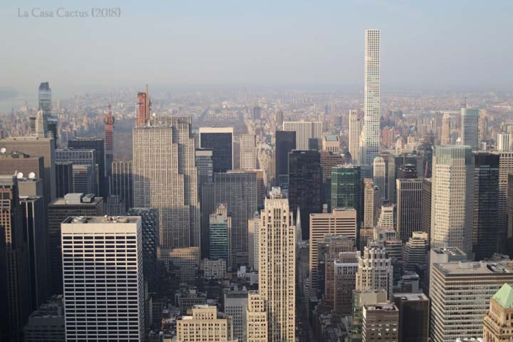 {New York City} Financial District and Empire State Building