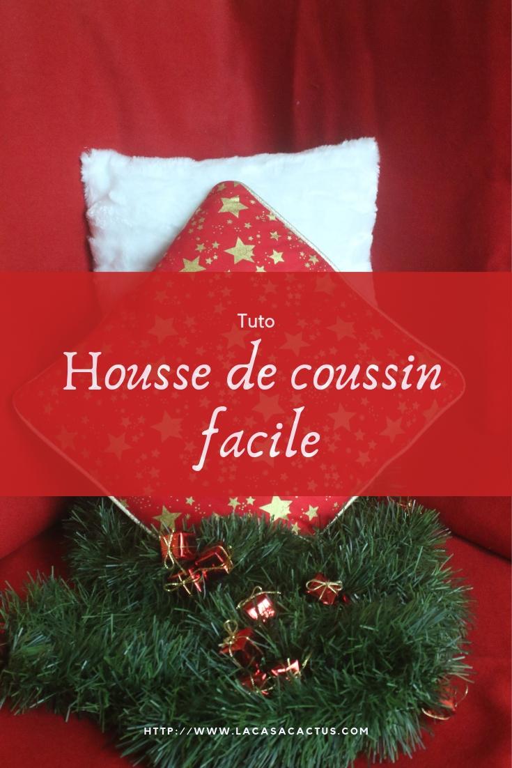 {DIY} Housse de coussin, La Casa Cactus
