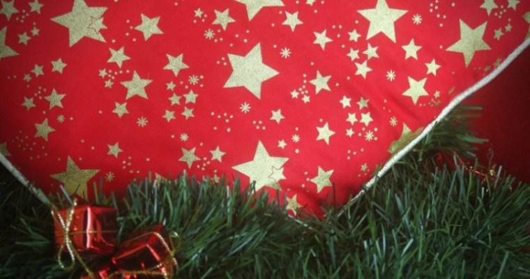 {DIY} Christmas pillow covers
