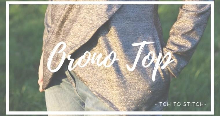 {Test} Orono top, Itch to Stitch