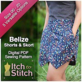 Belize shorts skort