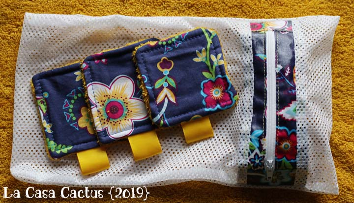 Sac à lingettes/ Lingerie bag, La Casa Cactus