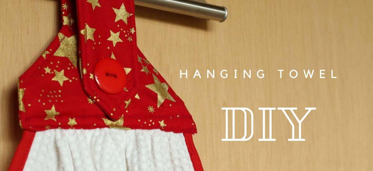 {DIY} Hanging towel