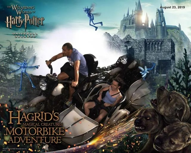 IoA Hagrid ride