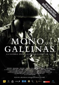 Afiche-Mono-con-Gallinas
