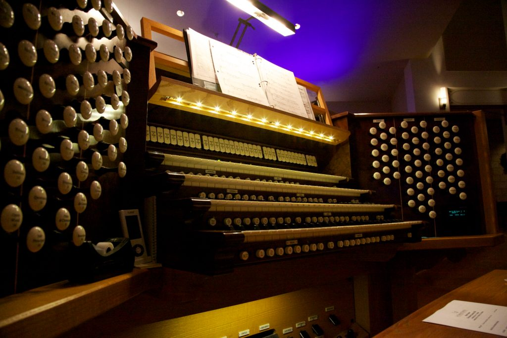 Christian Music Lutheran 92-Rank Berghaus Organ, Arizona's 2nd largest