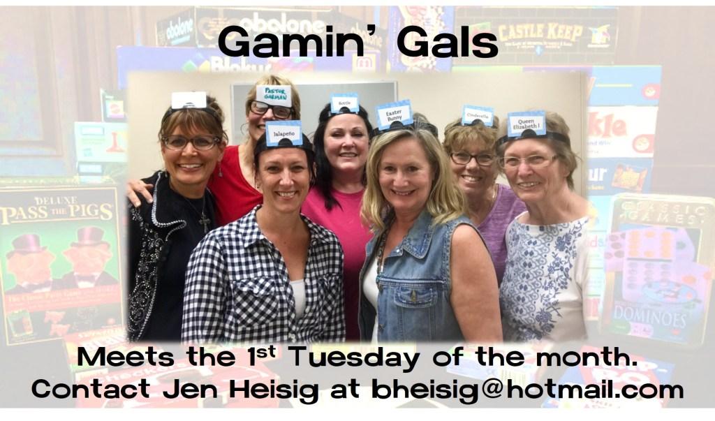 Gamin Gals at La Casa de Cristo Phoenix Arizona Lutheran Church Women's Ministry G! Group