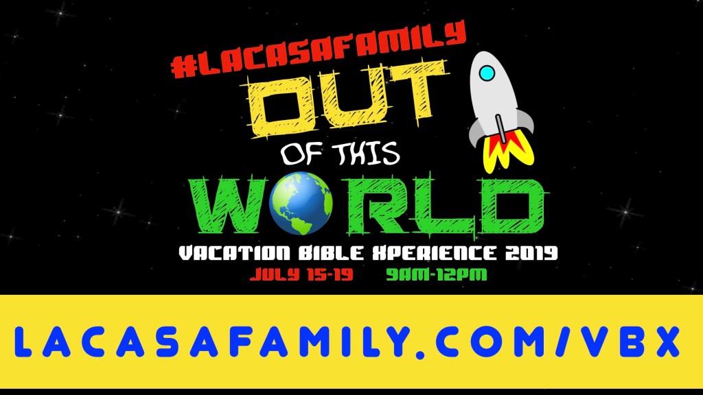 Vacation Bible Experience VBX 2019 Scottsdale Arizona Logo