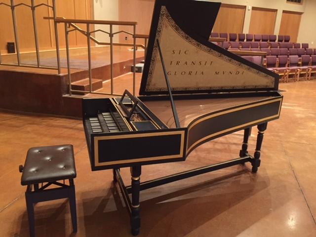 La Casa de Cristo Lutheran Church's Robert Davies Harpsichord