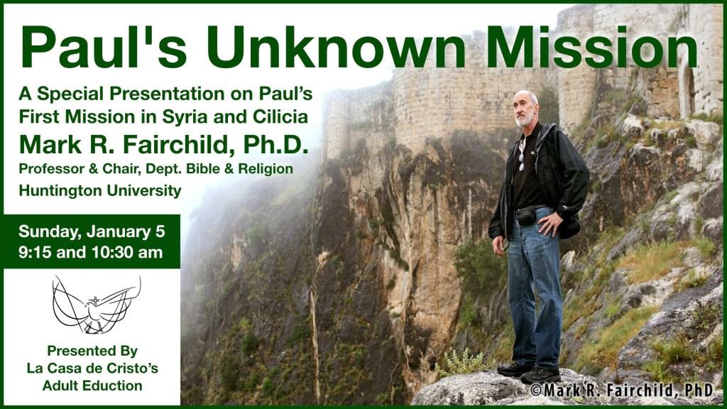 Paul's Unknown Mission - Mark Fairchild Slide