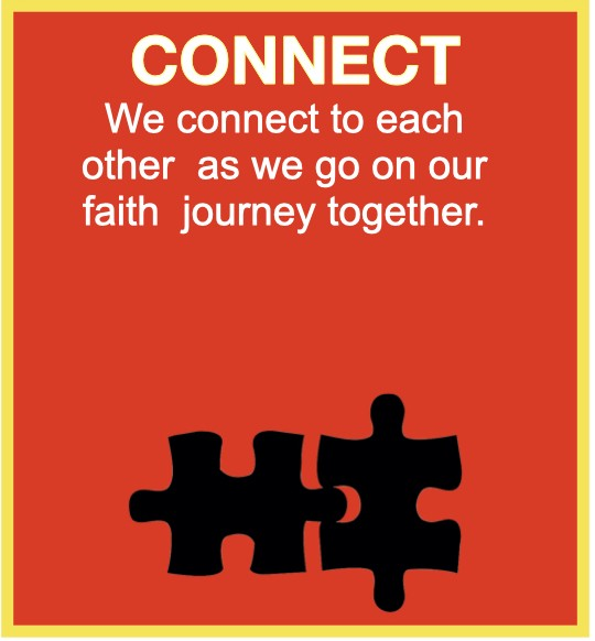 connect to each other as we go on our faith journey together