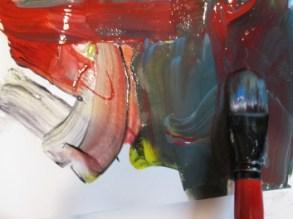 La Casa de las Quimeras talleres creativos. Pintando.