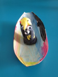 Ra en su barca, realizado por Nur