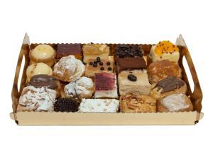 Bandeja de 20 pasteles variados