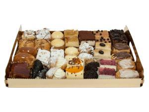 Bandeja de 42 pasteles variados