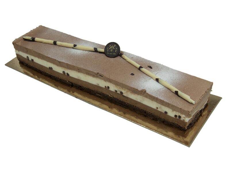 Tarta Ponche de 3 chocolates