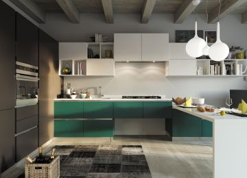 Cucine Outlet Online | Cucina Lube Laura Sconto Outlet 50 Cucine ...