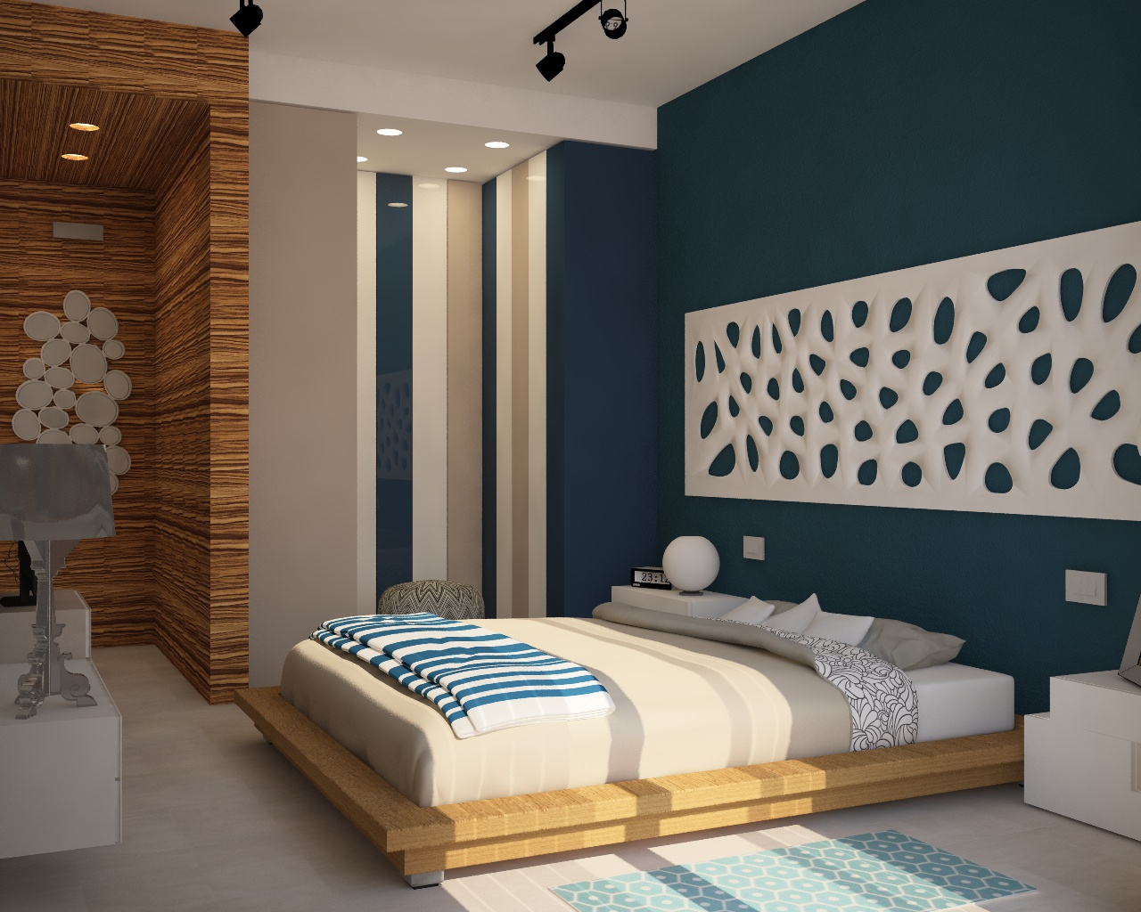 Come Arredare Una Camera Da Letto Stretta : Camera da letto lunga e stretta percorsi ridisegnati per una