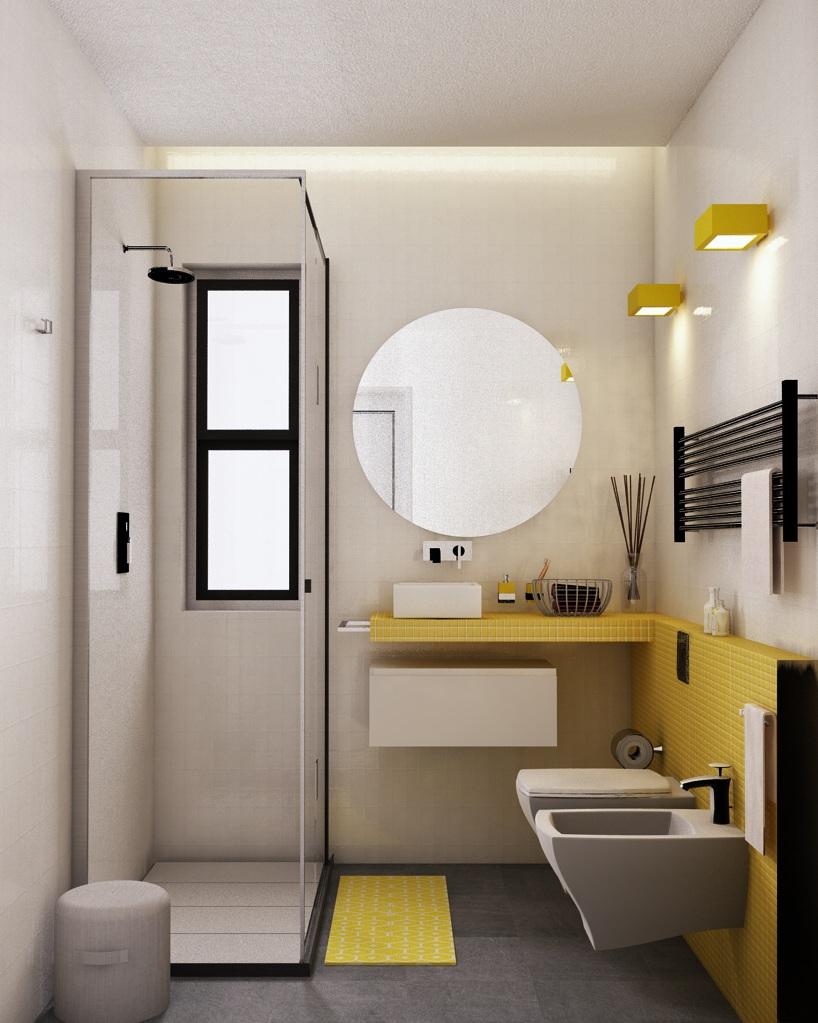 Arredare un bagno quadrato  la Casa nel Cassetto
